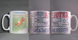 Aeromodeller Vintage Jetex Mug (permet De Se Rendre Pssst)