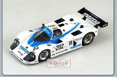 202 Le Mans 1988 Spark 1:43 Sp0642 Modellino Mazda 767 N