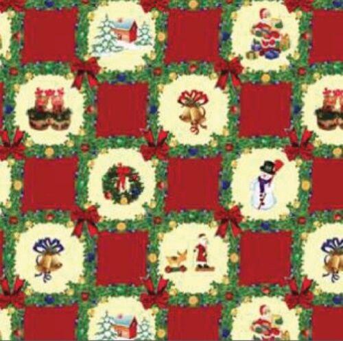 Wachstuch Tischdecke Weihnachten K186-3 eckig rund oval