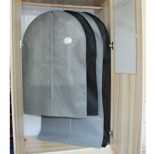 Travel Zipper Bag Dress Clothes Coat Cover Protector Hanging Closet Wardrobe 1x