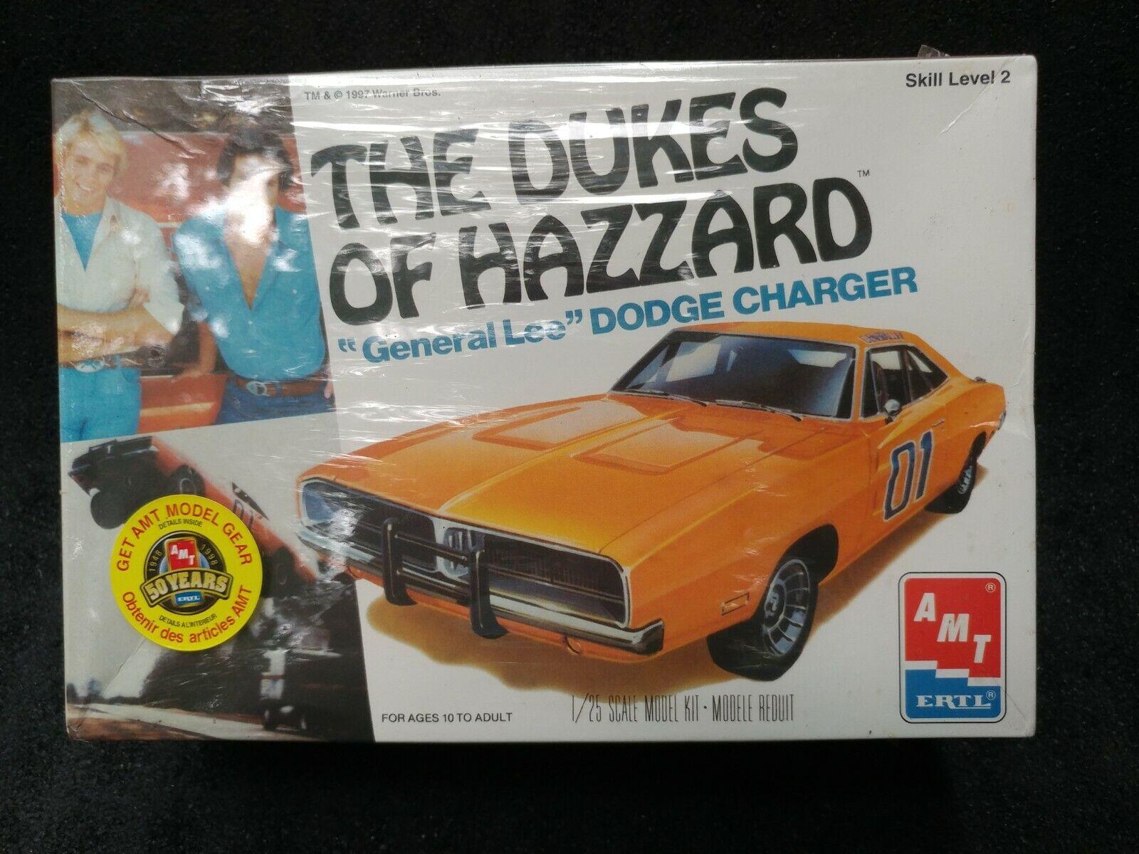 Dodge Charger 1969 General Lee Dukes of Hazzard Kit Bausatz 1//25 1//24 Amt Modell