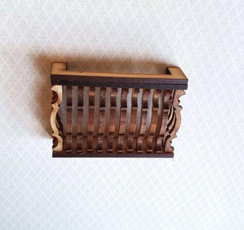 "Dollhouse Miniature Balcony Gate for Window Square DIY 1:12 Scale 3/"""