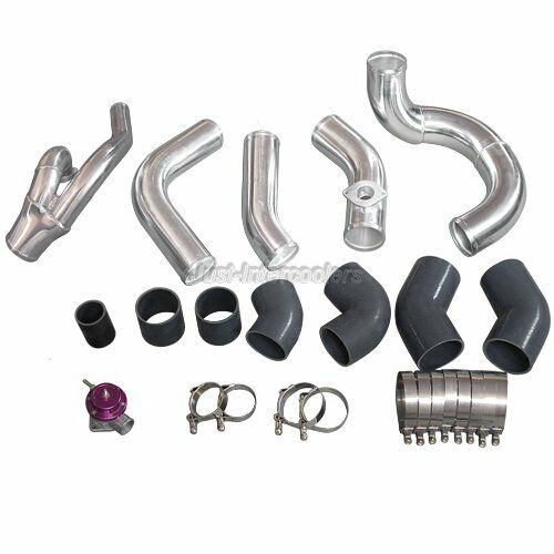 CXRacing Piping Kit For 98-05 Lexus IS300 2JZ-GTE 2JZGTE Twin Turbo Black  Hoses