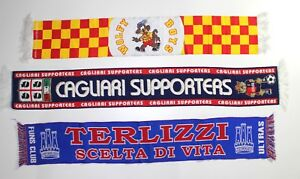 d60313d319 Image is loading  Lecce-Scarf-Yellow-Boys-Ultras-Cagliari-Supporters-Terlizzi-