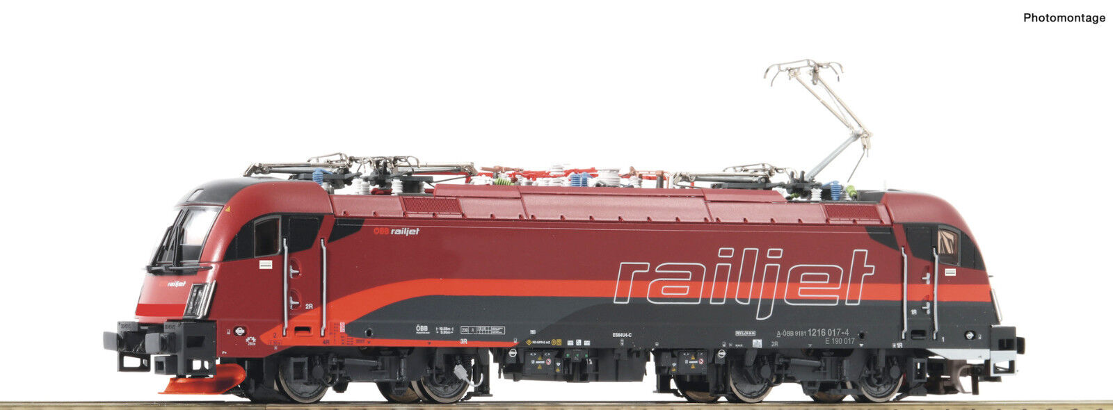 ROCO h0 73248 E-Lok 1216 Railjet delle ÖBB  DCC/Sound + novità 2018  NUOVO + OVP