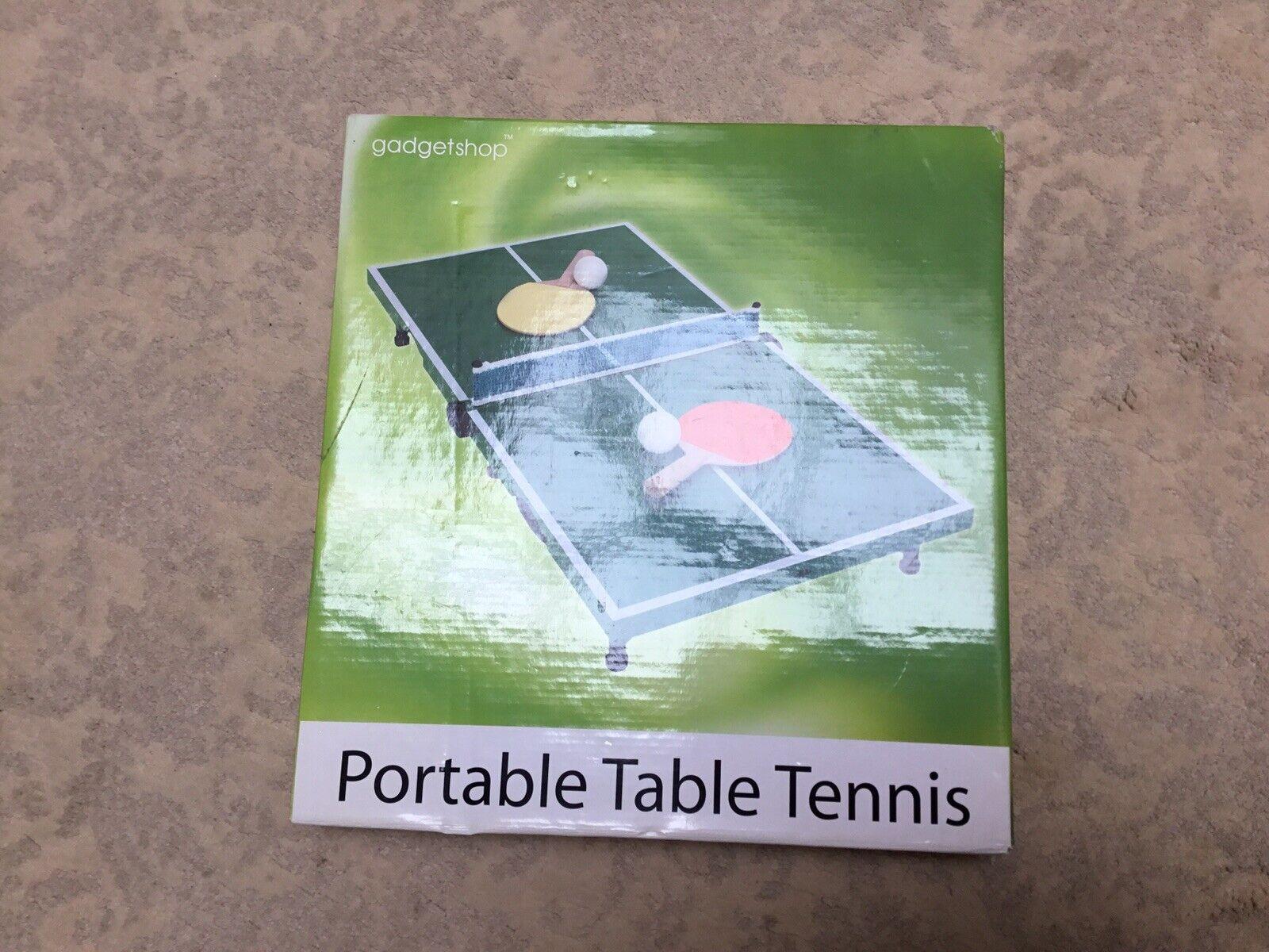 Portable Table Tennis By Gadget Shop