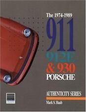 The 1974-1989 911 912e and 930 Porsche Book~Parts Description~Authenticity~NEW