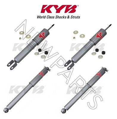Hummer H3 2006-2008 Front and Rear Shock Absorbers Suspension Kit KYB Gas A Just