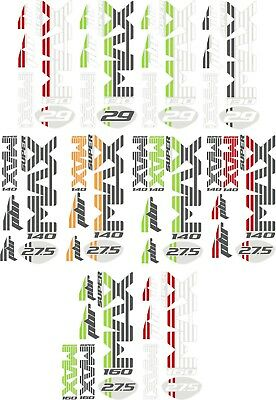 Sticker Decal Set for Cannondale Lefty DLR2 MAX Fork Prophet etc.