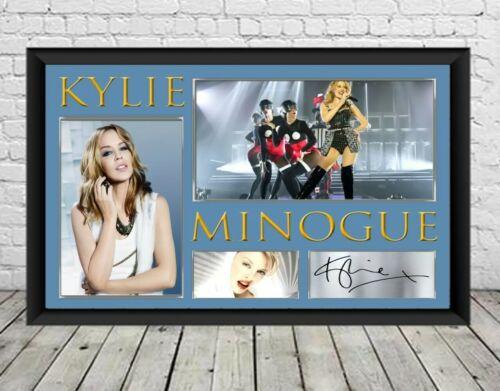 Kylie Minogue Signed Photo Print Autographed Poster Memorabilia