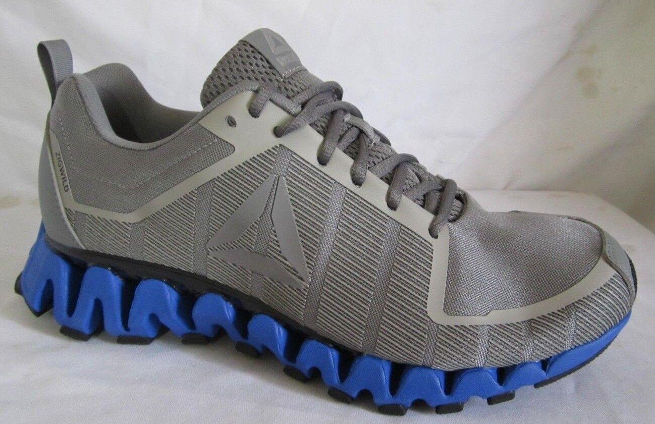 Reebok  ZigTech Zigwild Tr  5.0  Gray  Men Running  Shoes 9.5