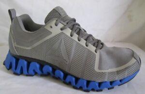 39e91aee7a6 Reebok ZigTech Zigwild Tr 5.0 Gray Men Running Shoes 9.5 ...