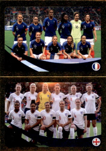 Panini FIFA365 2019 France // England Women world ranking Sticker 443 a//b