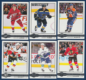 SET-OF-10-CARDS-WITH-MCDAVID-15-16-O-PEE-CHEE-GLOSSY-ROOKIES-NRMINT-11316