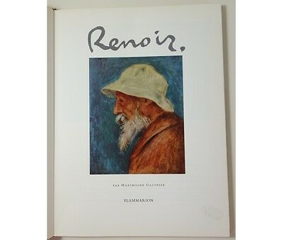 Maximilien Gauthier - Renoir - Illustrations couleurs. Flammarion, Les Maîtres d