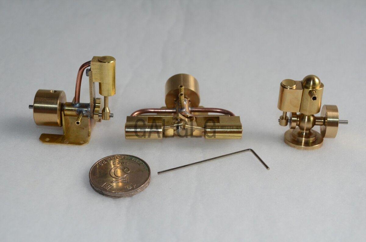M22+M27 Steam Engine Modle+M28 Mini Two-cylinder Steam Engine Modle