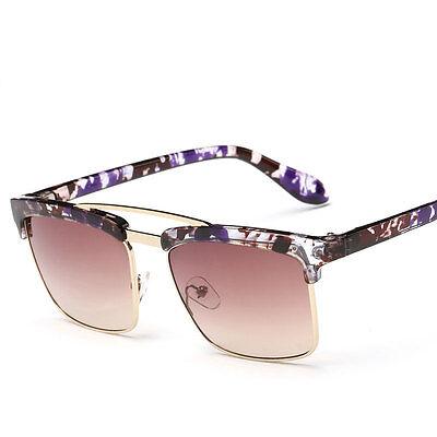 Outdoor Retro Pilot Mirrored Lens Sunglasses Eyewear Eye Glasses UV400