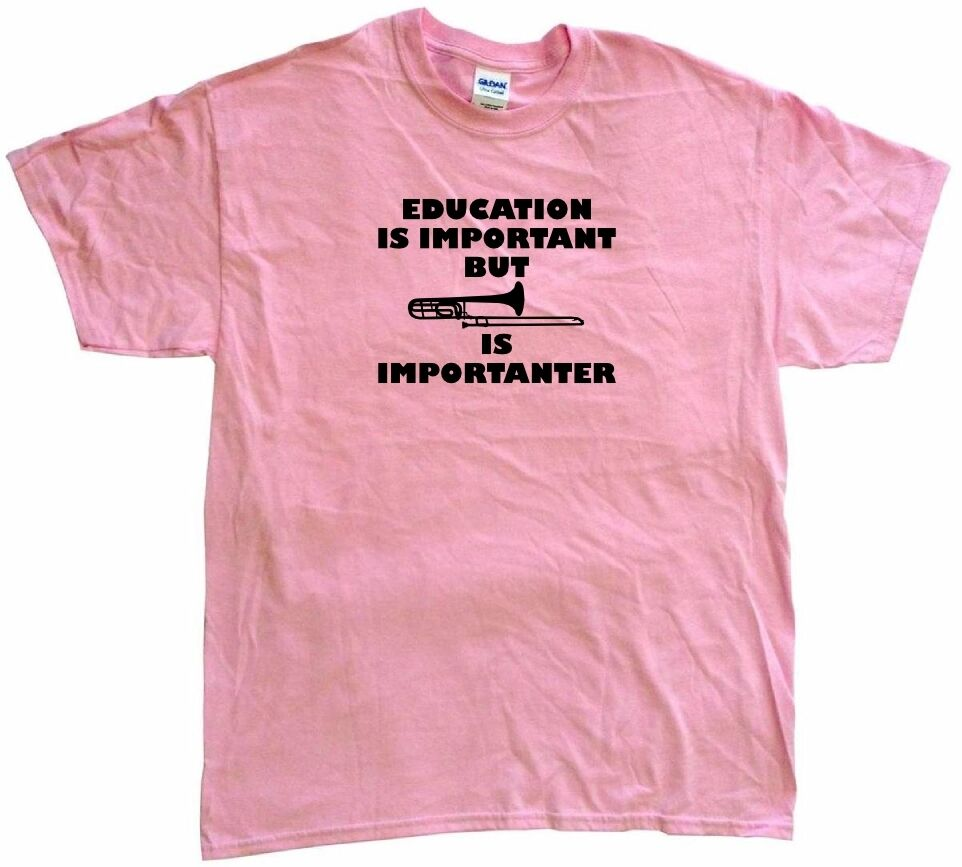 Pool is Importanter Ladies T Shirt Education is Important grabmybits