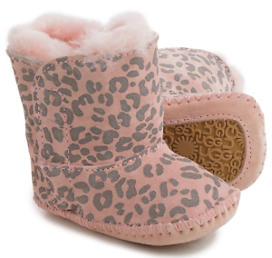 35efa81543d Details about NEW UGG AUSTRALIA CASSIE PINK BOOTIES ANKLE BOOTS BABY GIRLS  SIZE 0-1 INFANTS