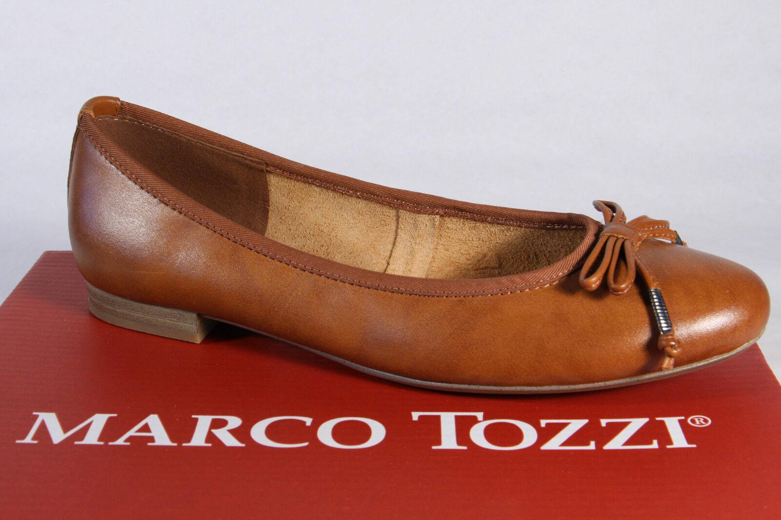 Marco Tozzi Btuttierina Slipper Sautope Basse Zeppe Marronee Nuovo