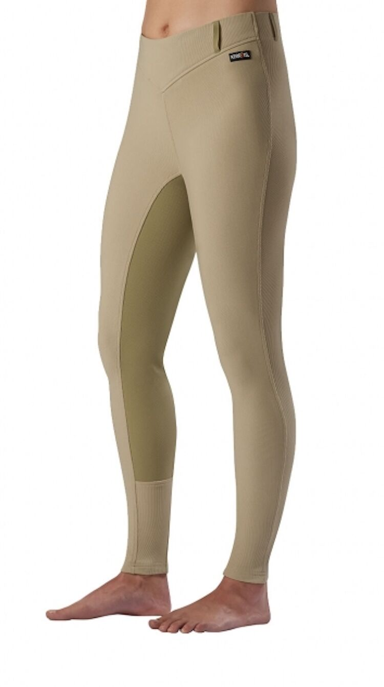 Kerrits Microcord  Fullseat Riding Breech-Tan-S  great selection & quick delivery