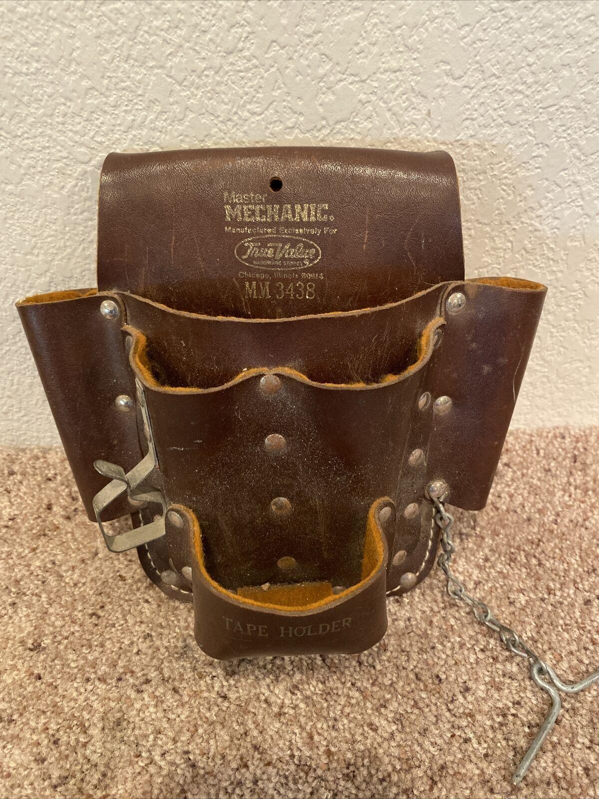 master mechanic Vintage Leather tool bag model MM3438