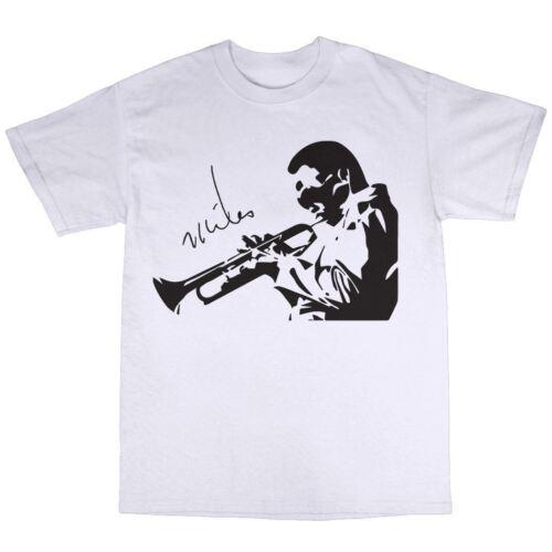 Miles Davis T-Shirt 100/% Cotton Bitches Brew Sketches Of Spain Tutu Boplicity