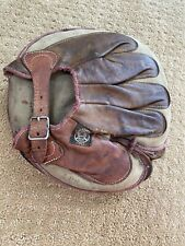 AWESOME Old Antique 1915's REACH Leather VINTAGE Baseball Glove Rare Circa Early