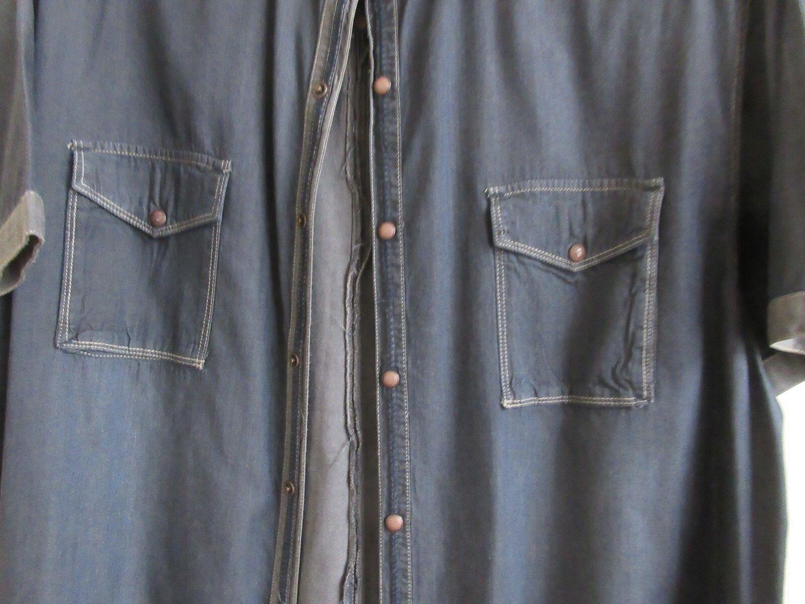 No Excess , , Size XL , Men's Short Sleeve Shirt , 100%