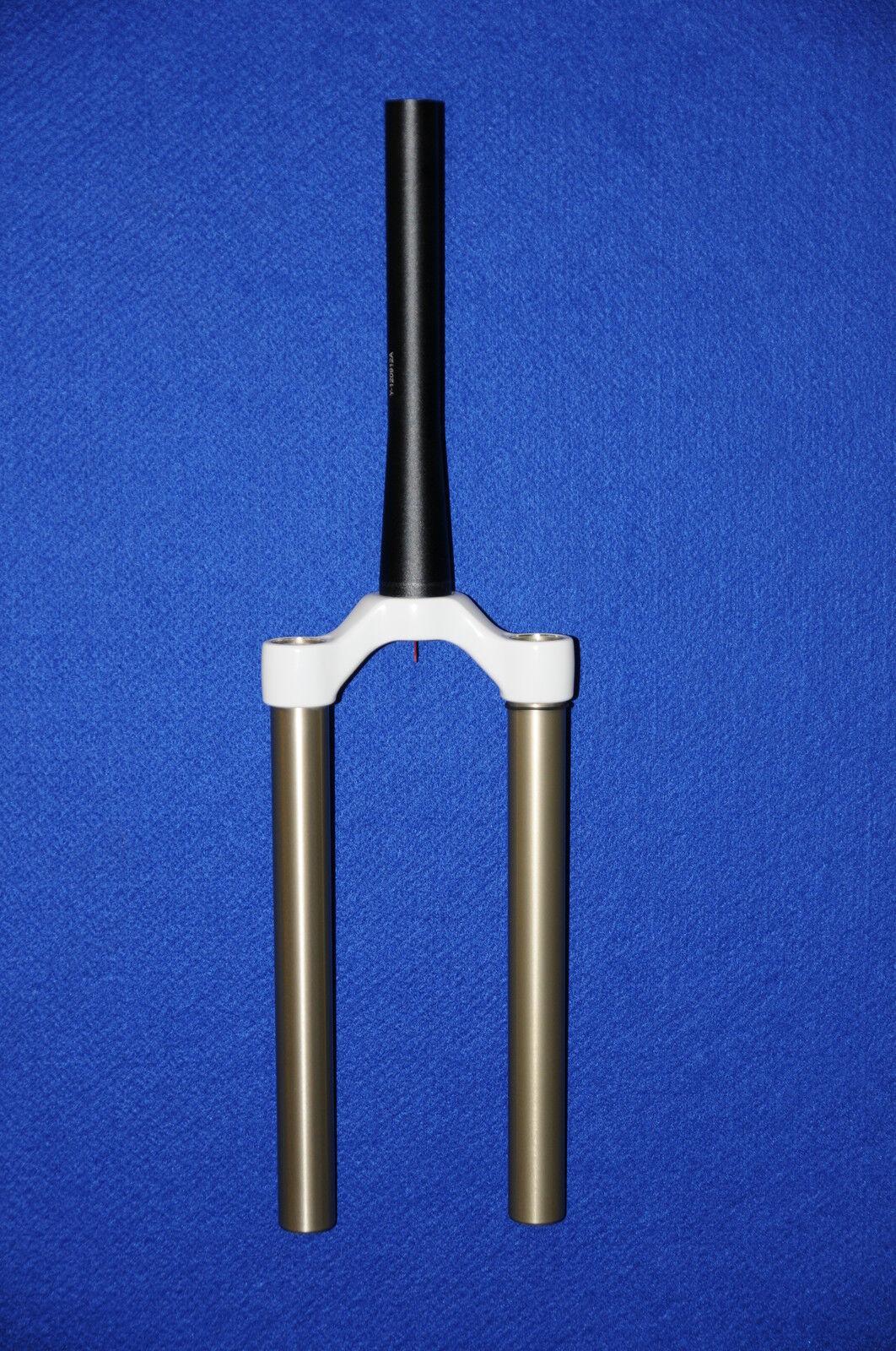 Fox Diving Pipe Unit 09 32 140 Air, 1.5 TAPER, Weiß CSU ASSY (820-00-228)