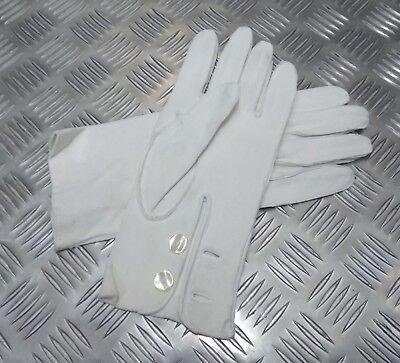 Echt British Military Feierlich Hirschleder 3 Dart Leder Handschuhe - Nicht Fest In Der Struktur