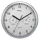 Technoline WT 650 Wall Clock With Thermo and Hygro