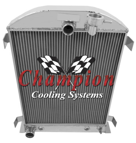 1932 Ford High Boy with Ford configuration 3 Row Champion ADV Aluminum Radiator