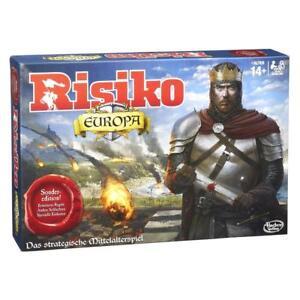 HASBRO-Risiko-Europa-B7409-Brettspiel-ab-14-Familienspiel-2-4-Spieler-Neu
