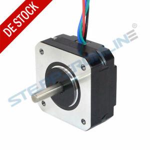 Short-Body-Nema-17-Stepper-Motor-Schrittmotor-16Ncm-1A-20mm-4-wire-17HS08-1004S