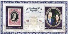 [SS] Malaysia 2012 Diamond Jubilee of Queen Elizabeth M/S