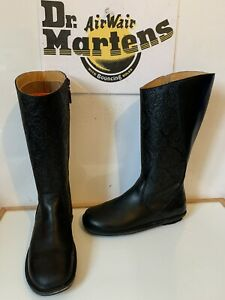 Dr. Martens Black Malibu Leather Boots