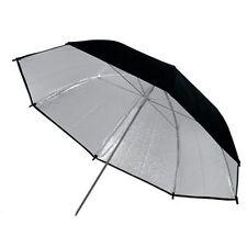 Black & Silver studio flash Umbrella 43in 109cm
