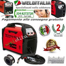SALDATRICE FILO INVERTER TELWIN TECHNOMIG 150 DUAL SYNERGIC150A 230V cod. 816050