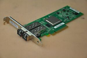 Details about HP 82Q 8Gb 2-port PCIe FC HBA Card QLE2562-HP  AJ764A/489191-001 w/2x AJ718A SFP