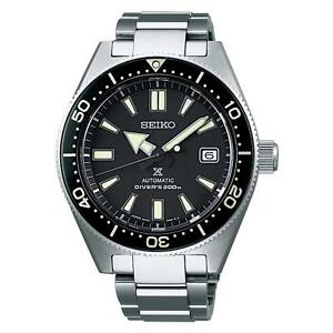 SEIKO-Men-039-s-Watch-SBDC051-SBDC-PROSPEX-DIVER-SCUBA-Historical-Collection-Black