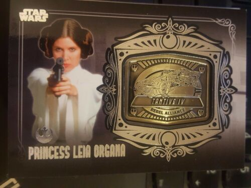 Star Wars 2012 Galactic Files 2 Medallion Relic #MD9 Princess Leia Tantive IV