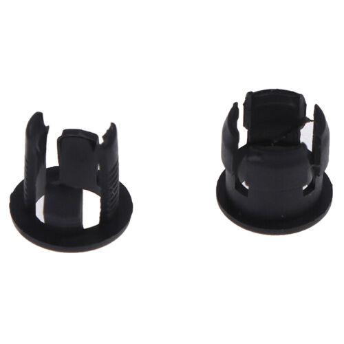 50Pcs 3mm//5mm Plastic LED Holders Clips-Bezels Mounts Cases Housings Black~JP
