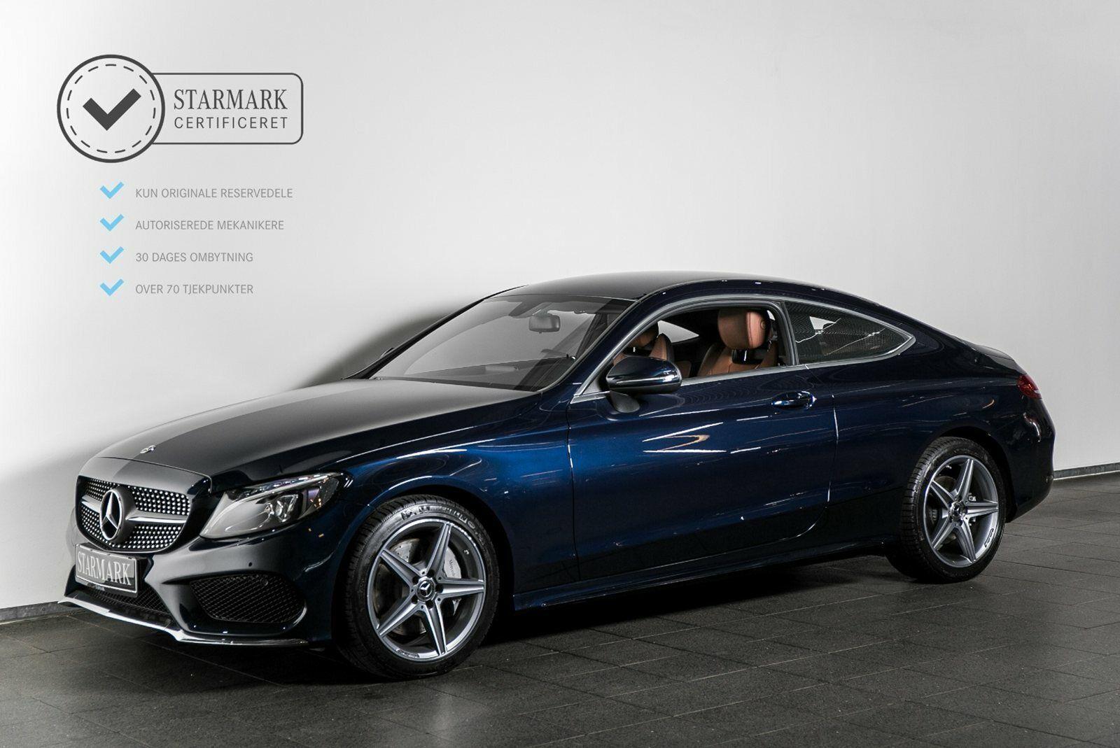 Mercedes C300 2,0 Coupé aut. 2d - 599.900 kr.