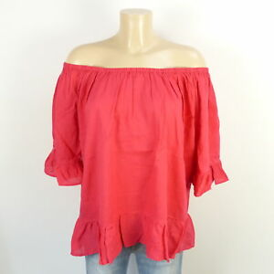 M Knitters Witty Bluse Gr bb353 Pink 38 Carmenbluse Himbeere Tunika wHHq0