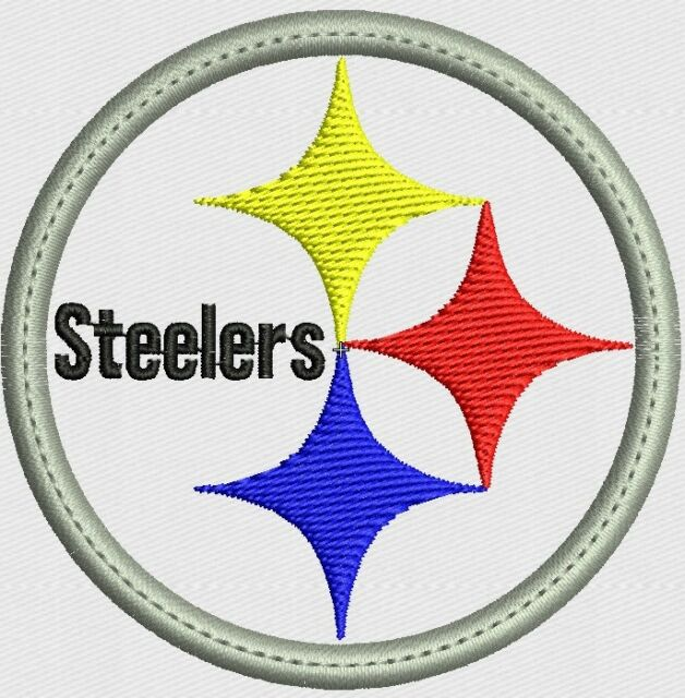 ***LOVE IT OR ITS FREE*** STEELERS embroidered patch IRON ON, FREE SHIPPING