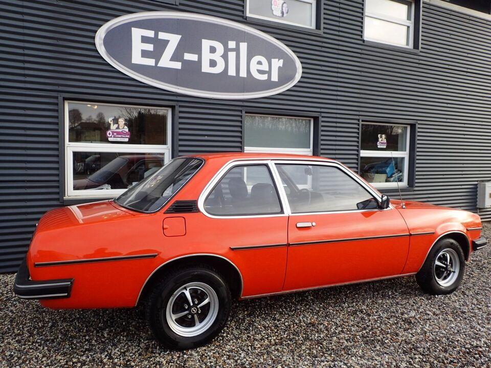 Opel Ascona 1,9 Benzin modelår 1980 km 62000 Orange