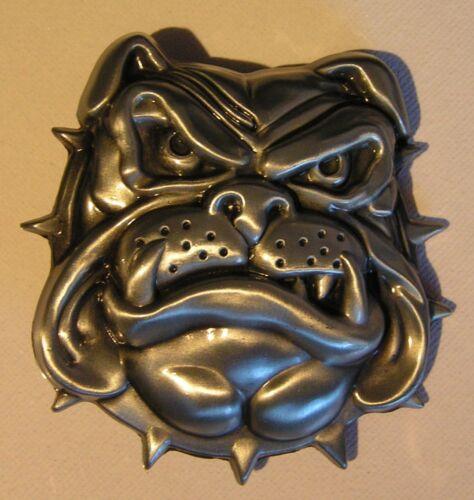 British Bulldog boucle ceinture pour fixer à votre propre ceinture 2 styles tête et corps complet