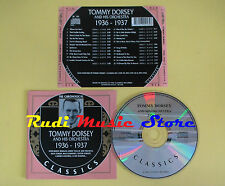 CD TOMMY DORSEY AND ORCHESTRA 1936-1937 The chronogical 1996france(Xs5) lp mc
