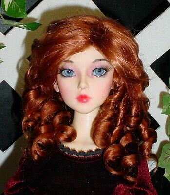 """Monique Gold DOLL Wig """"Paige"""" Size 5/6 in Double Red"""